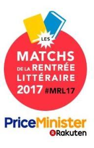 Et comme chaque année le blog a participé aux Matchs de la rentrée littéraire (Price Minister)